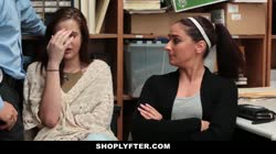 ShopLyfter- Mom & Daughter Caught & Fucked For Stealing