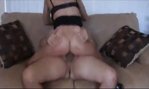 incredible mother fucked on the sofa
